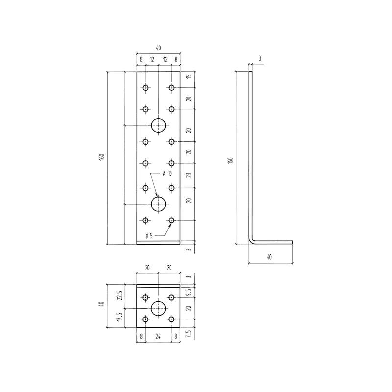Winkelverbinder Typ B1 - 2