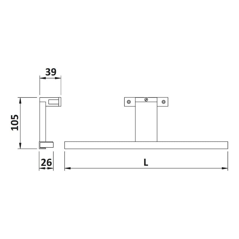 LED-Anbauleuchte ABL-230-3 - 2