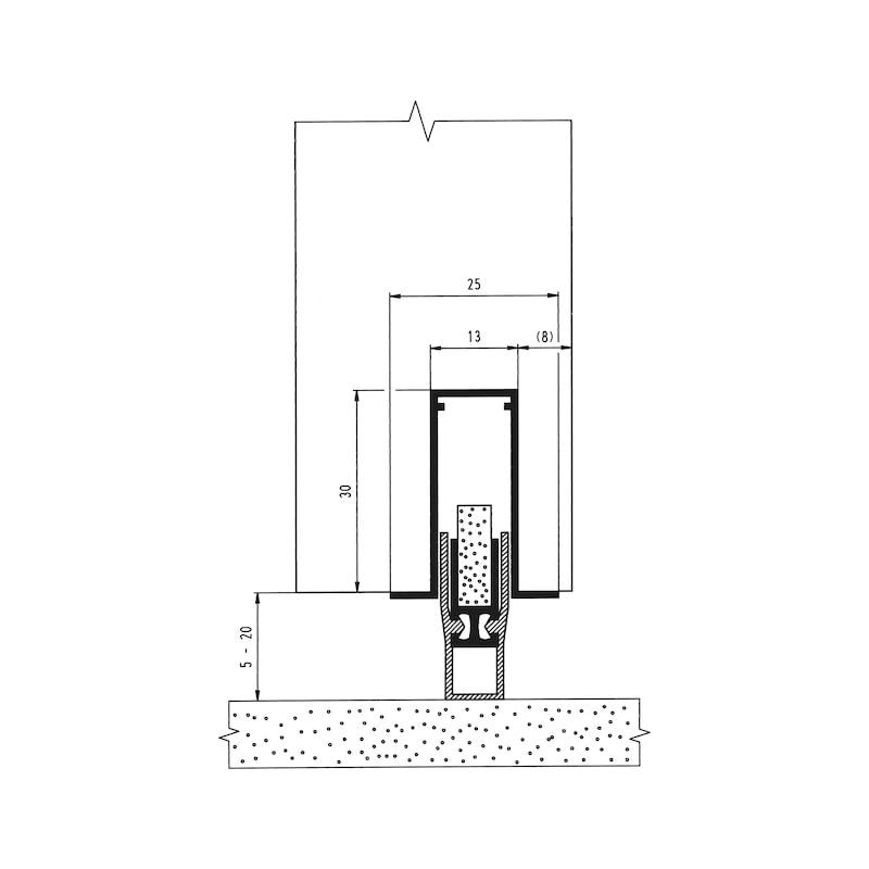 Automatische Türabdichtung  AT 48 - 3