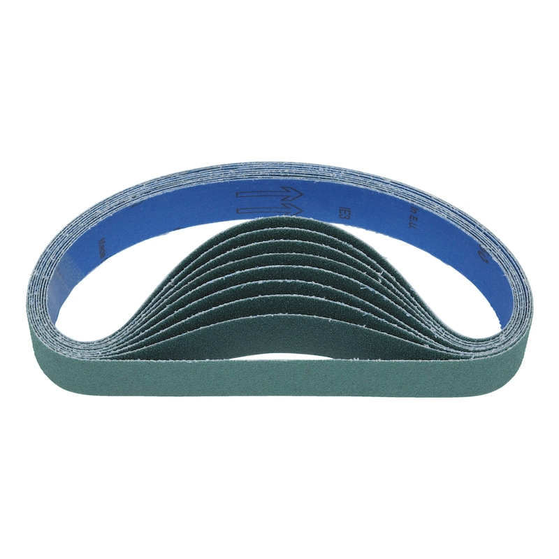 Nastro abrasivo in grana abrasiva ceramica per levigatrice a nastro per tubi