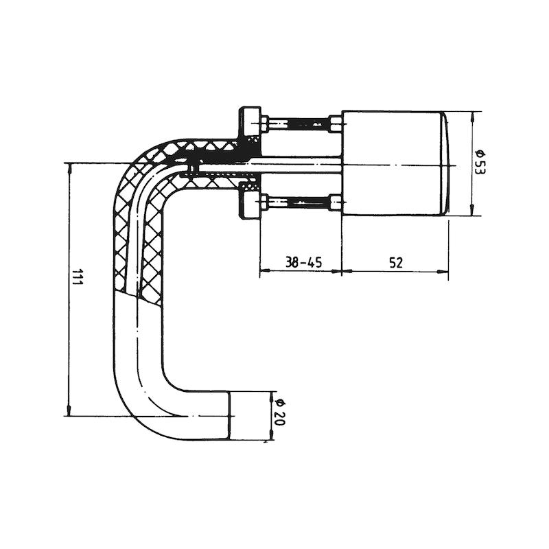 Türdrücker Polyamid - 3