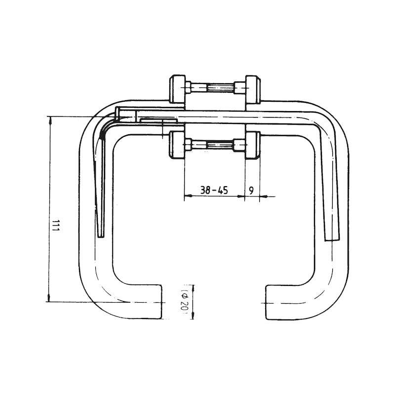 Türdrücker Polyamid - 2