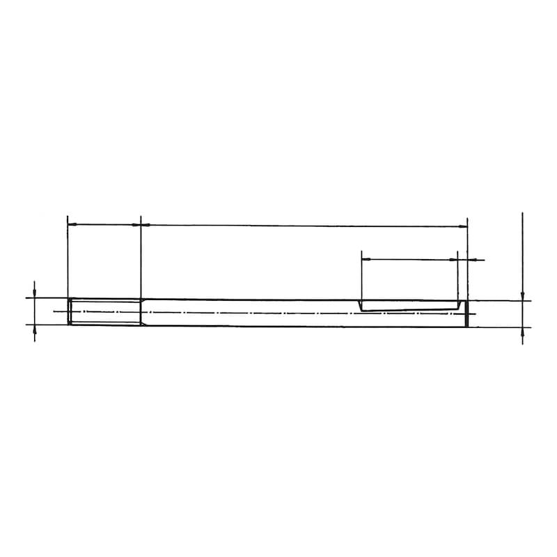 Wechselstift  Für Nylon-Türdrücker Ø 20 mm - 2