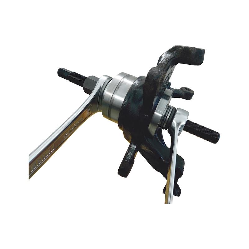Wheel bearing tool kit XXL for large passenger cars to vans - 6