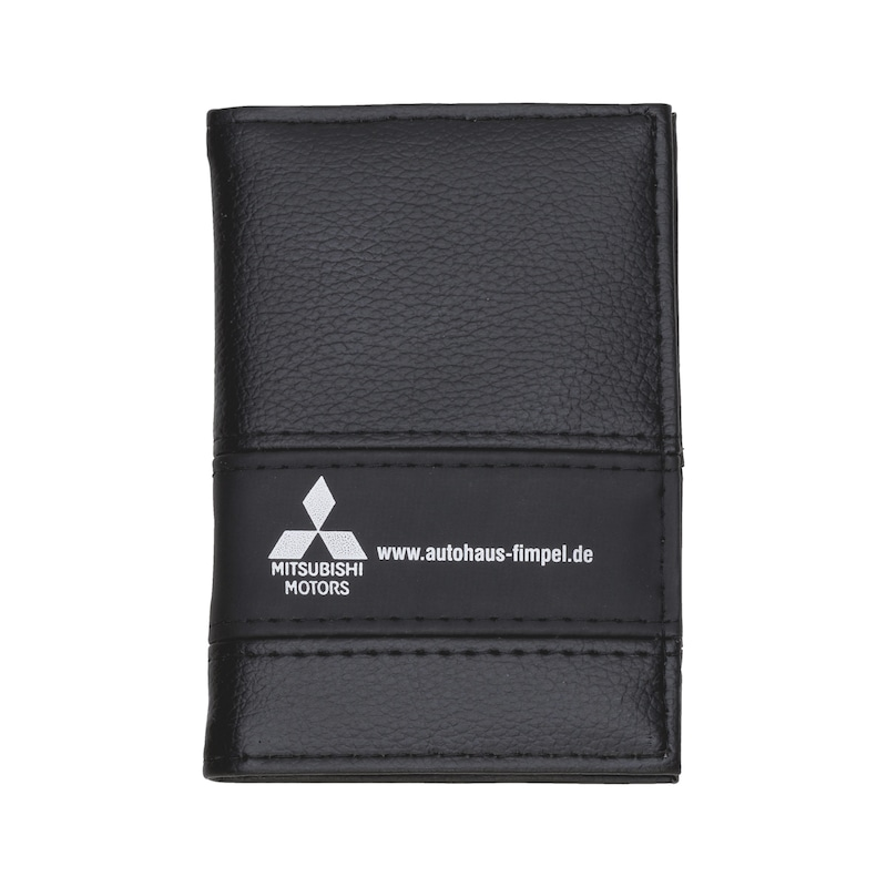 Vehicle document holder PU imitation leather mix - 1