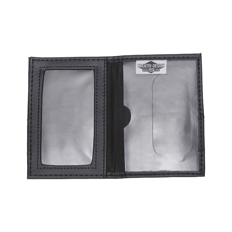 Vehicle document holder PU imitation leather mix - 2