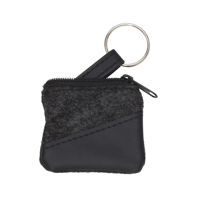 Key case felt with PU imitation leather