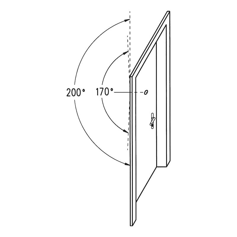 Verlängerung für Türspion  Typ B + Typ C - 3
