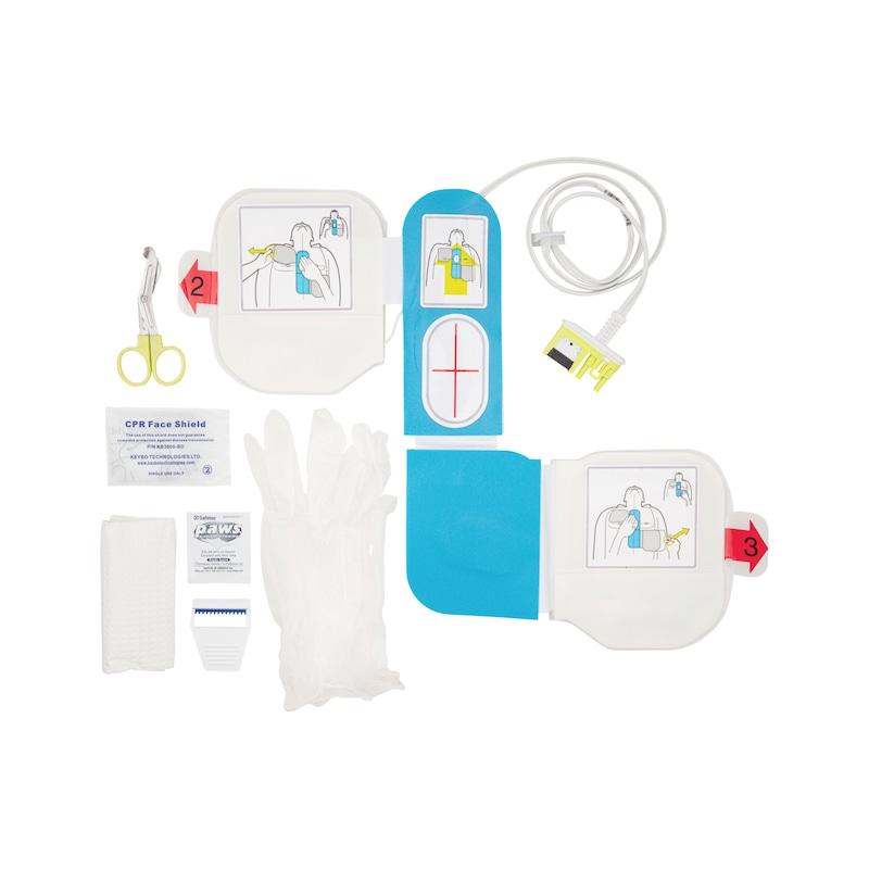 Elektrode für Defibrillator Halbautomat