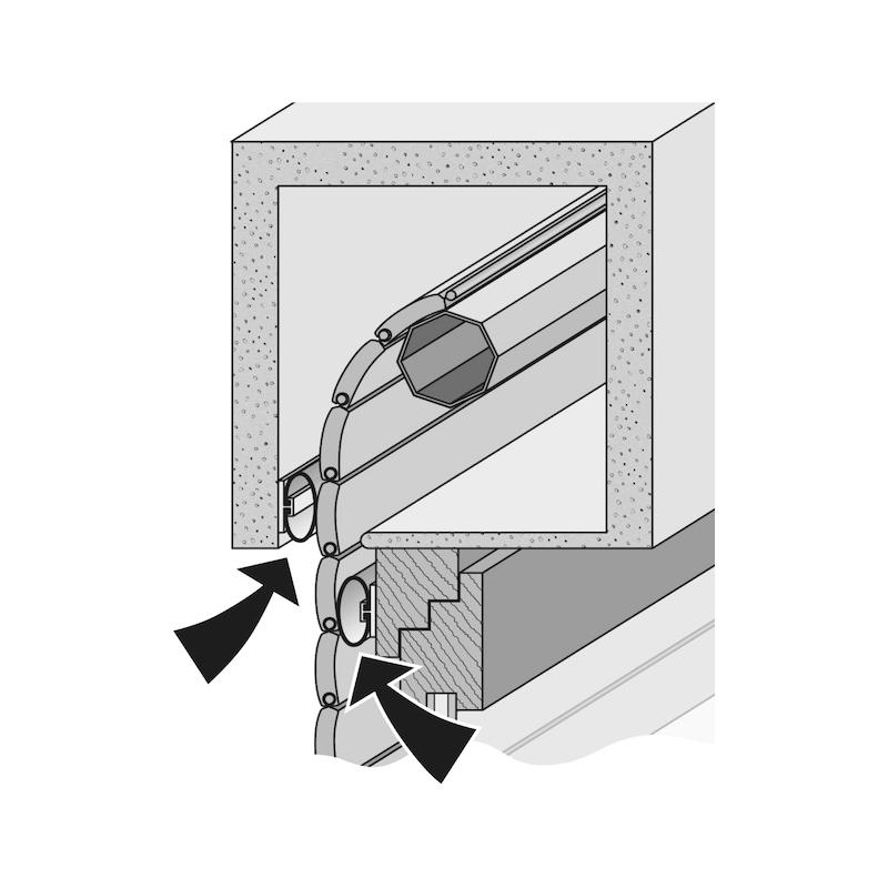 Rollladenabdichtungs-System RD - 3