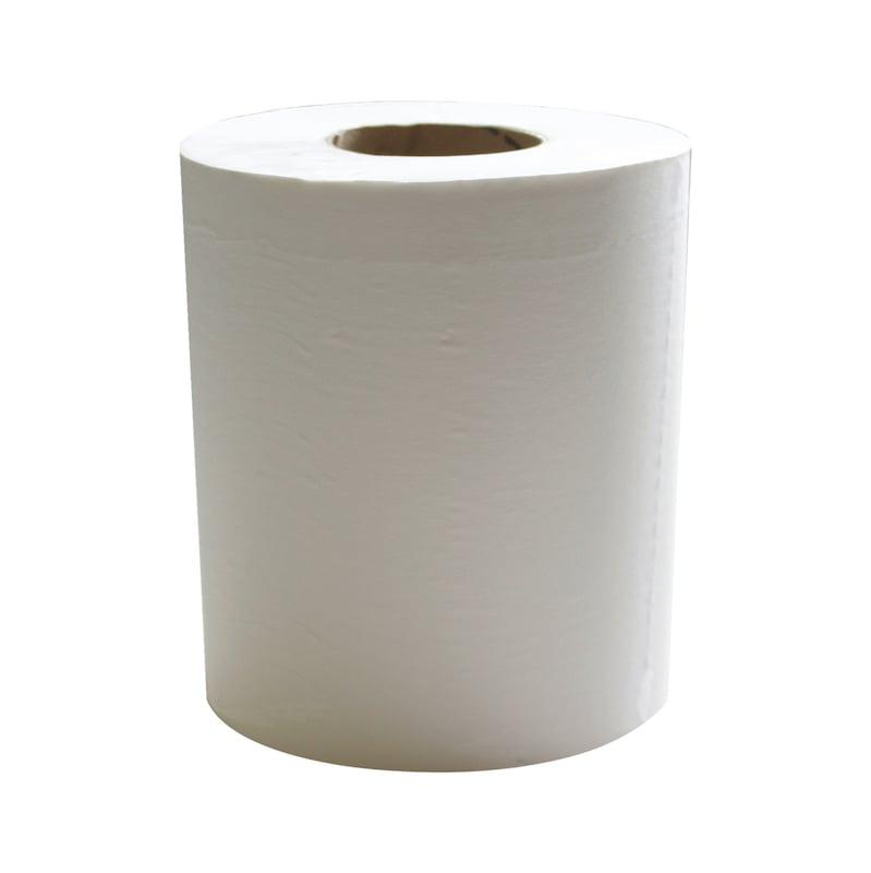 Bobine d'essuyage pure ouate blanche - LOT DE 4 BOBINES D ESSUYAGE