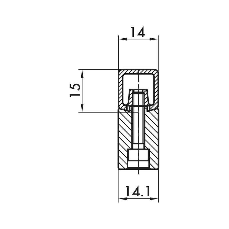 Design-Möbelgriff Bügelform MG-ZDAL 2 - 2