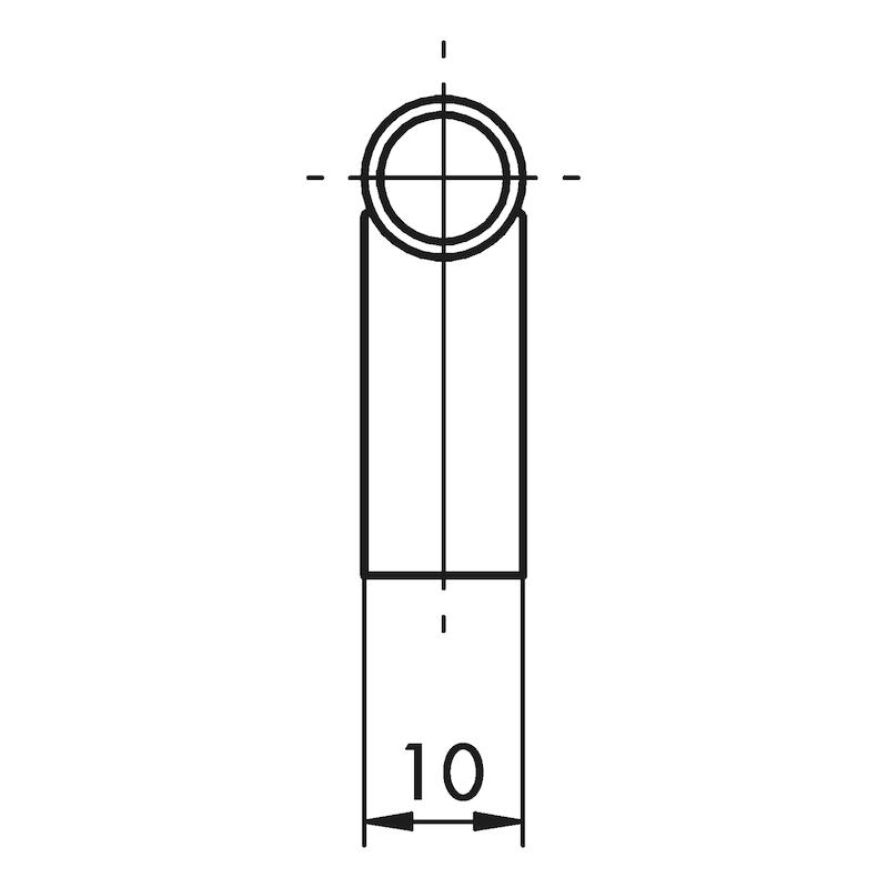 Design-Möbelgriff Bügelform MG-ZDST 1 - 2