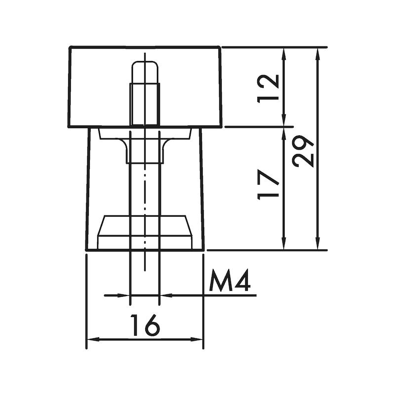 Möbelknopf MK-ZDH 1 - 3