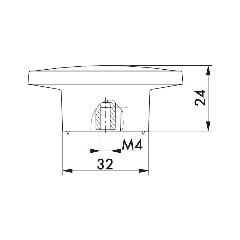 Möbelknopf MK-ZD 5 - 3
