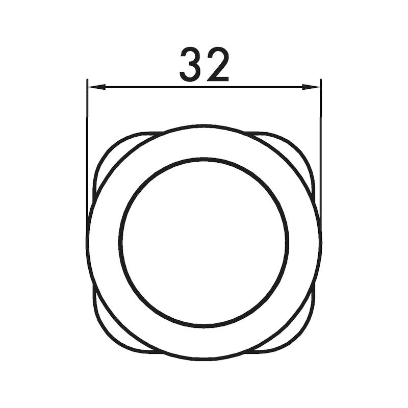 Möbelknopf MK-ZD 8 - 3