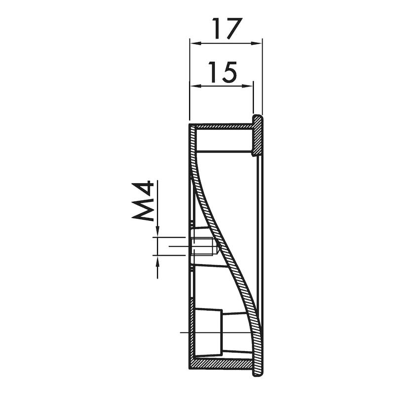Muschelgriff MUG-ZD 7 - 5