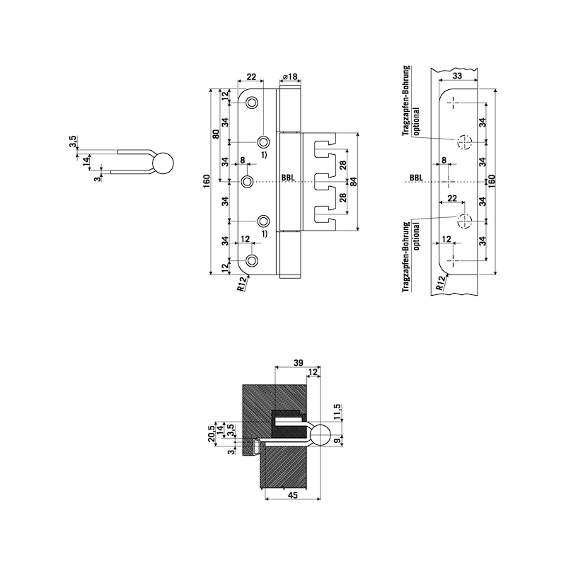 Objektband OBX 18-9277/160 - 2