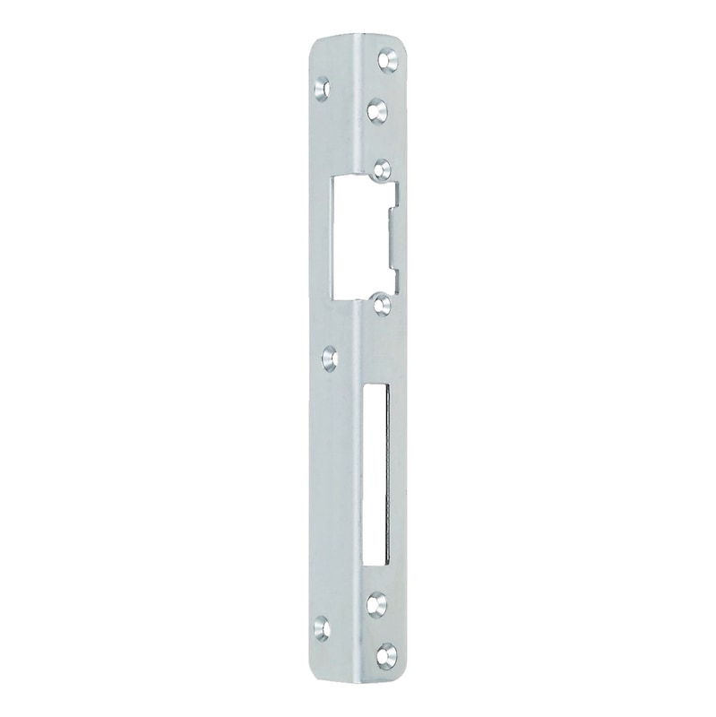 Central locking plate for recessing - AY-ANGLLOKPLT-DRLOK/EL-R-SILVER-4-9-10