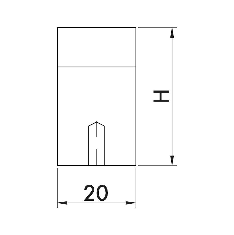Design-Möbelgriff Bügelform MG-A 4 - 4