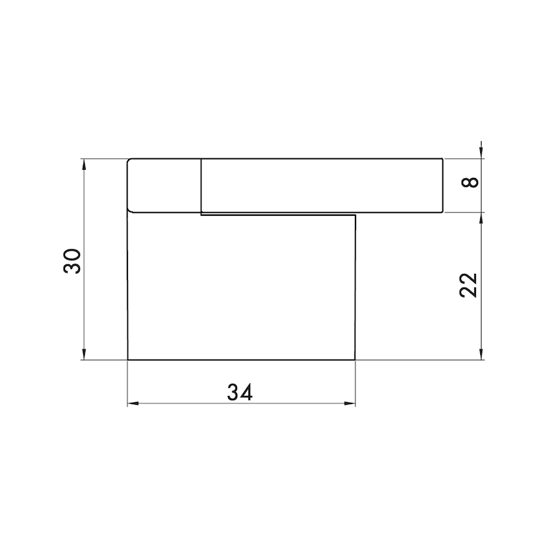 Möbelknopf MK-ZD 2 - 3