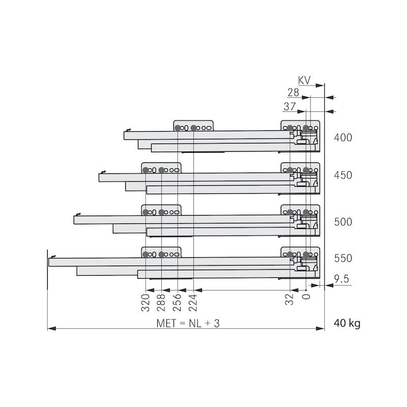 Zarge Nova Pro Scala H63 - 5