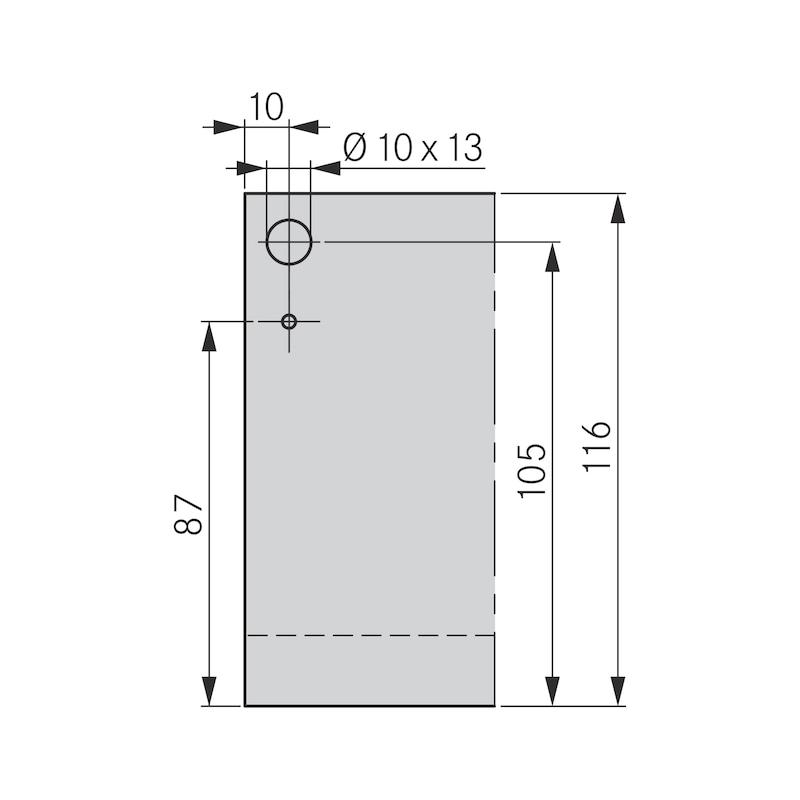 Zargen-Set Nova Pro Scala H122 - 3