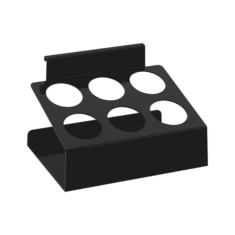 Portabombolette laterale per riporre bombolette di prodotti chimici - 1