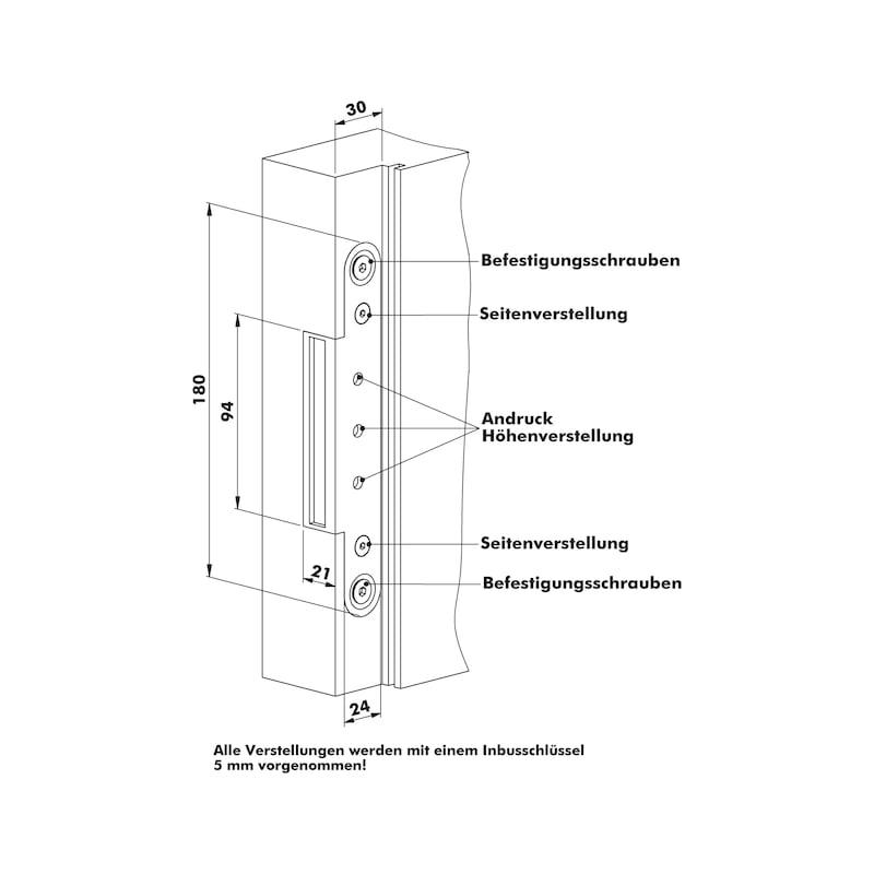 Aufnahmeelement OBX 1067-3D - 4