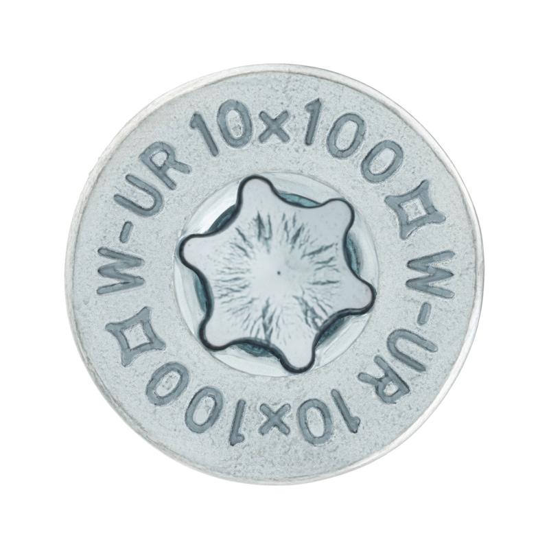 Kunststoff-Rahmendübel SHARK<SUP>® </SUP>UR 10, Stahl verzinkt - 2