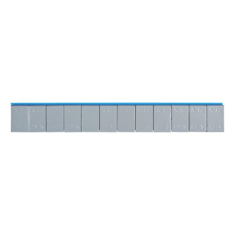 Stahl-Klebegewicht für Pkw-Aluminiumfelgen
