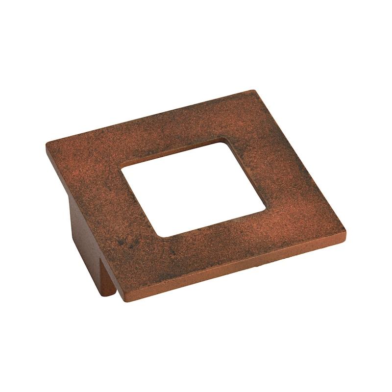 Möbelknopf quadratisch MK-ZD 4 - 1