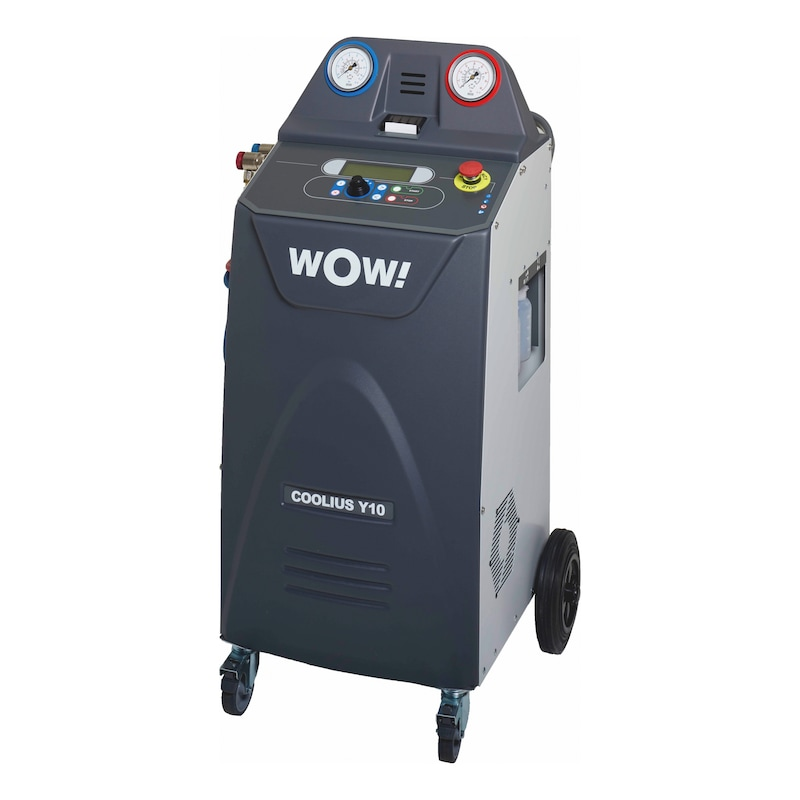 Klimaservicegerät KFZ COOLIUS<SUP>® </SUP>A10 und COOLIUS<SUP>® </SUP>Y10  Doppelpack-Set  - 7