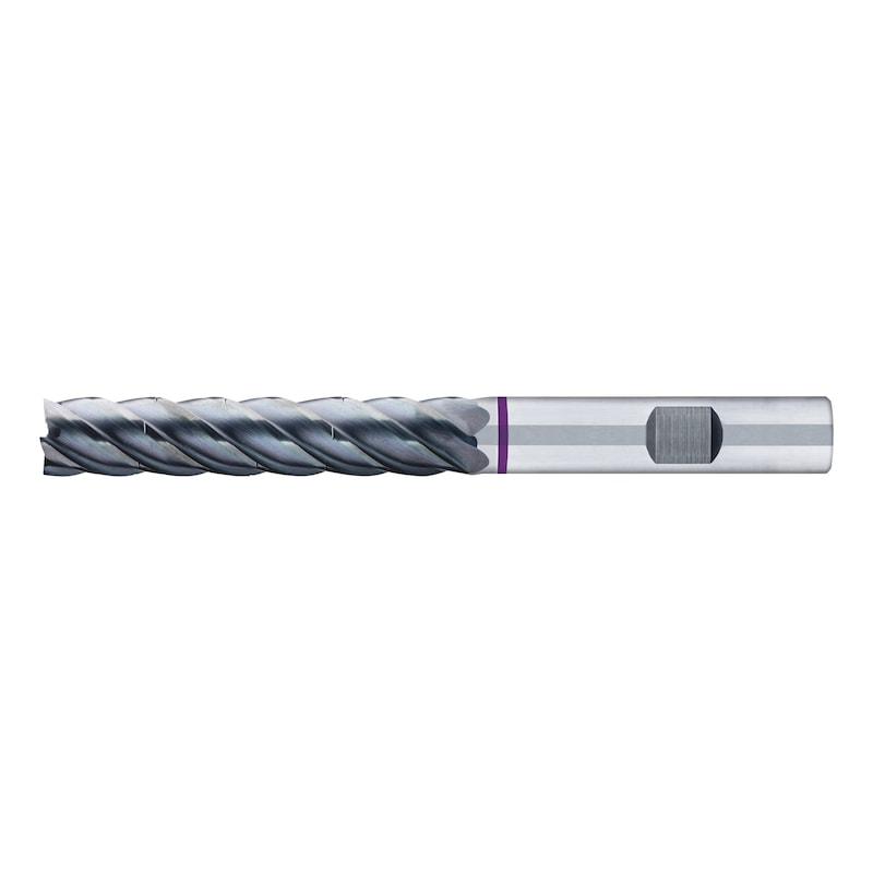 STC+ Schaftfräser Turbo-Twister-Universal, Fünfschneider, ungleiche Drallsteigung, 5xD