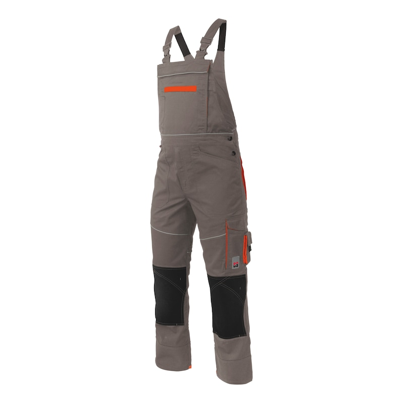 Starline Plus Arbeitslatzhose - LATZHOSE STARLINE PLUS GRAU 52