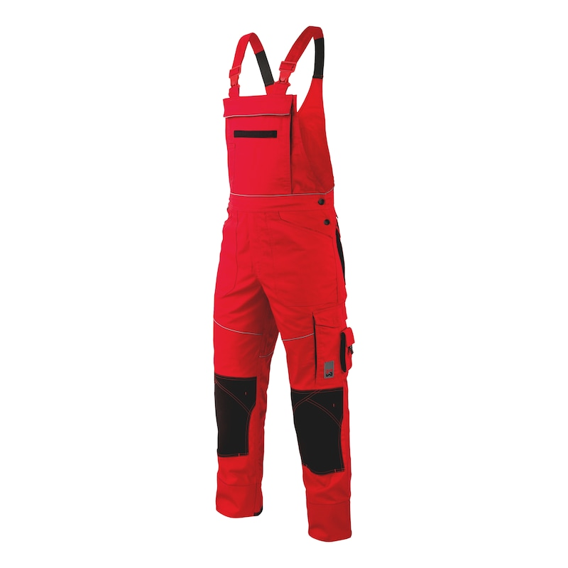 Starline Plus Arbeitslatzhose - LATZHOSE STARLINE PLUS ROT 48