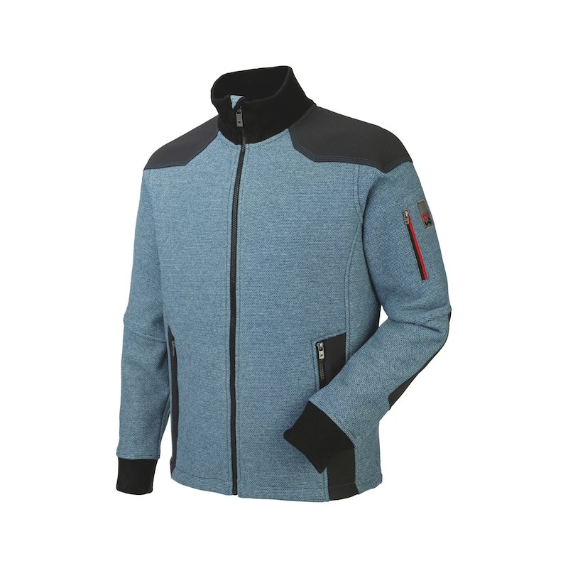 Nature Fleecejacke - FLEECE JACKE NATURE BLAU L