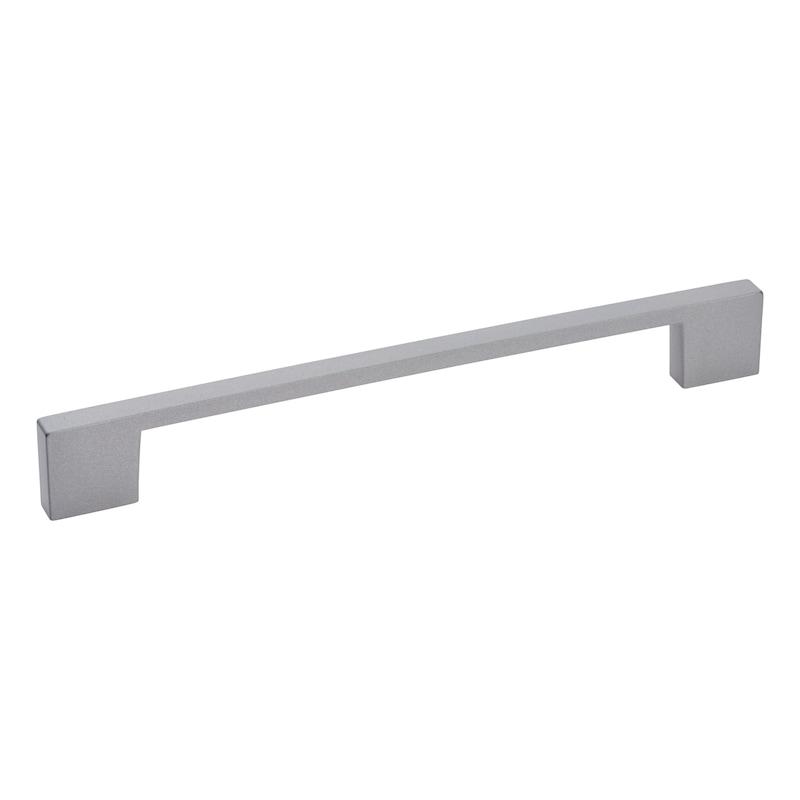 Dizajnová nábytková kľučka - RUKOVAT-OBLUK-ZD-DESIGN-ECKIG-ALU/FINISH
