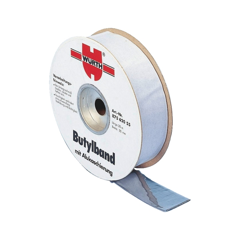 Butyl tape with aluminium lamination - 1