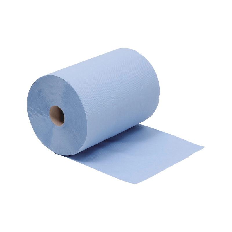 Cleaning paper ECO LINE - CLNPAP-ROLL-3PLIES-38CM-1000SHT-TEARING