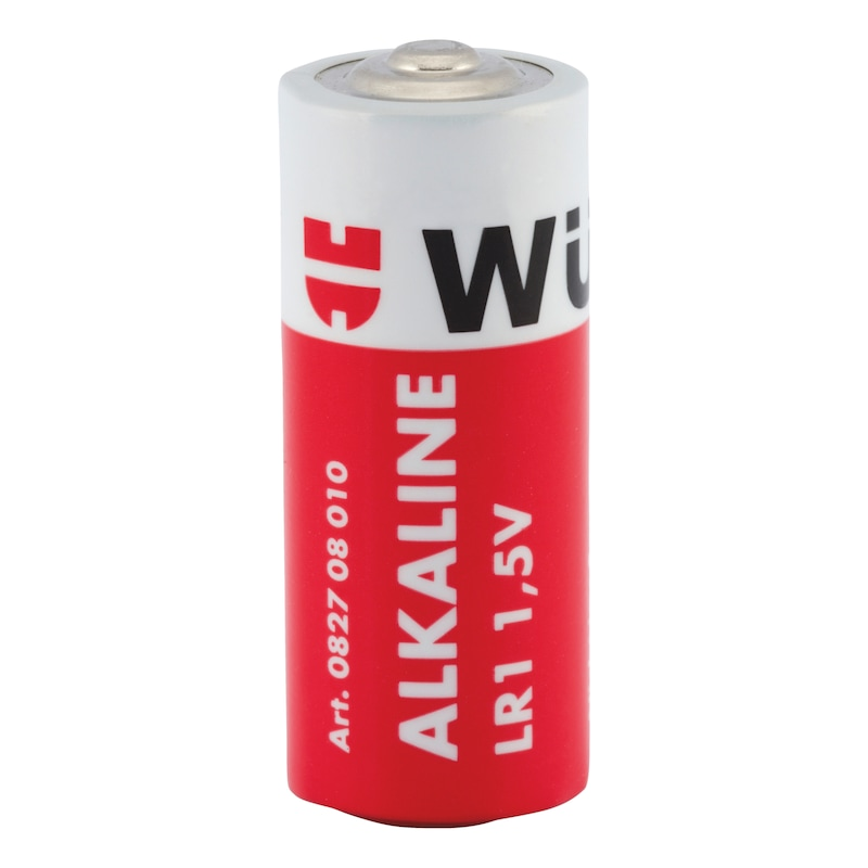 Alkaline battery, LR1