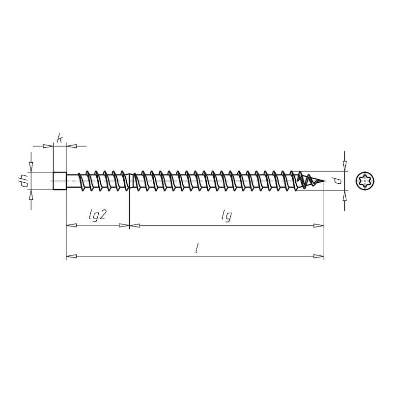 ASSY<SUP>®</SUP> 3.0 FKS Fensterkonstruktionsschraube - 2