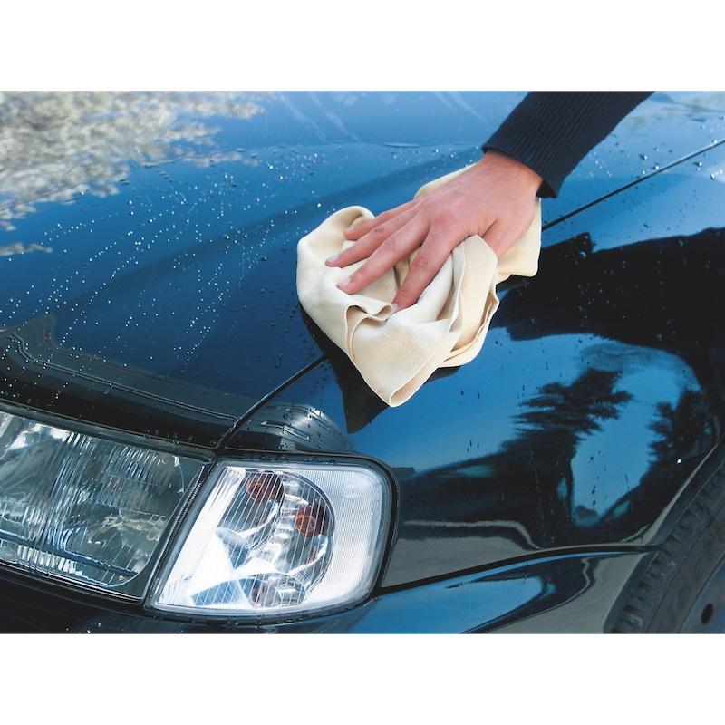 Pelle scamosciata per auto e cristalli - PELLE-SCAMOSCIATA-70X45CM