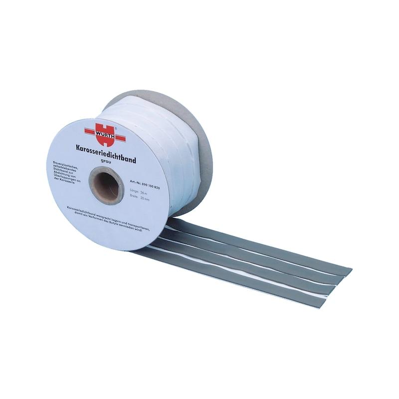 Karosseriedichtband - DIBA-KFZ-GRAU-20X2MM-26M