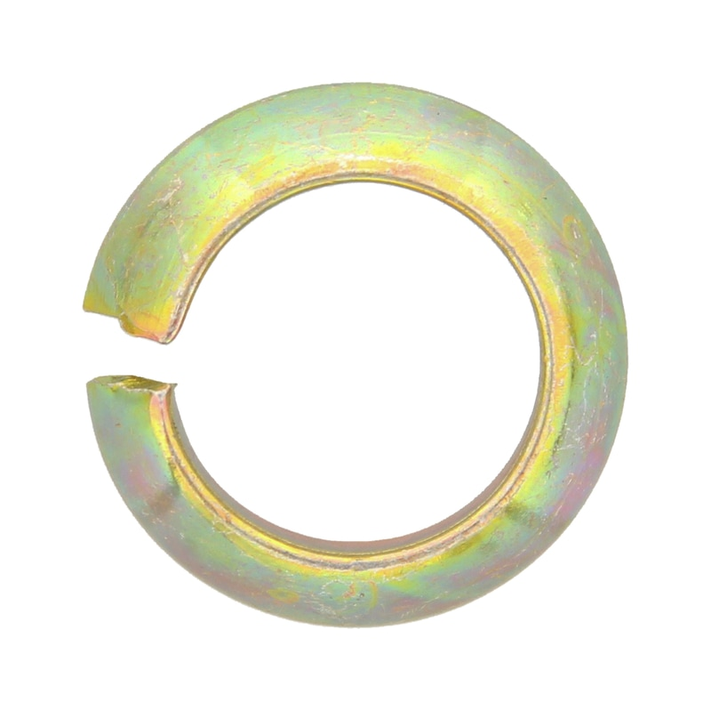 DIN 74361 galv. oceľ žltá, tvar C - PODLOZKA PRUZ-LIMES-DIN74361-(A2C)-D22,5