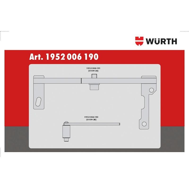 Kit d'outils de calage adapté aux moteurs du groupe PSA 1.0 - 1.2 VTI, essence - 3