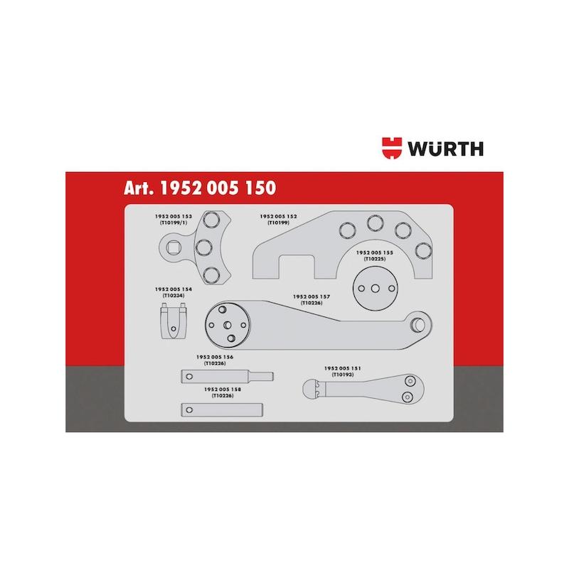 Steuerzeiten-Werkzeug-Satz passend für VW 2.5, Diesel - 3