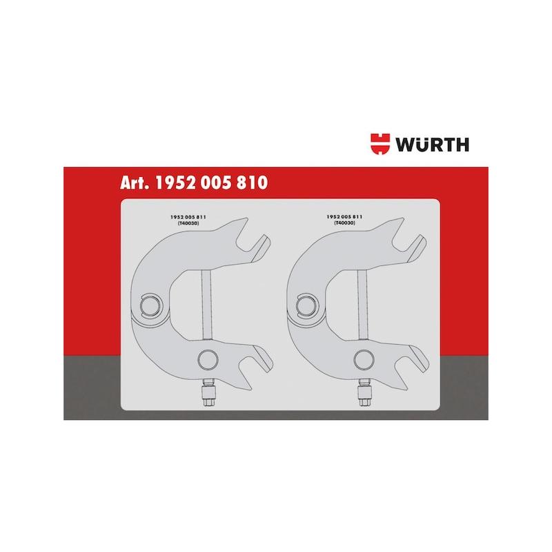 Kit d'outils de calage adapté aux moteurs du groupe VW 3.0, essence - 3