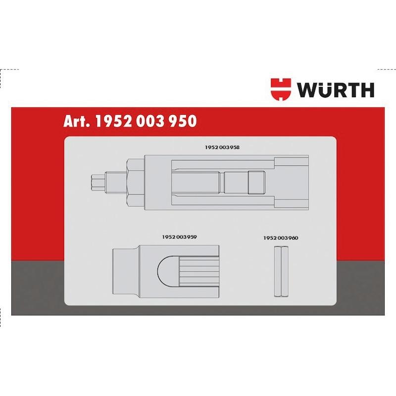 Injektor-Stecknuss-Satz für Bosch/Mercedes - 4