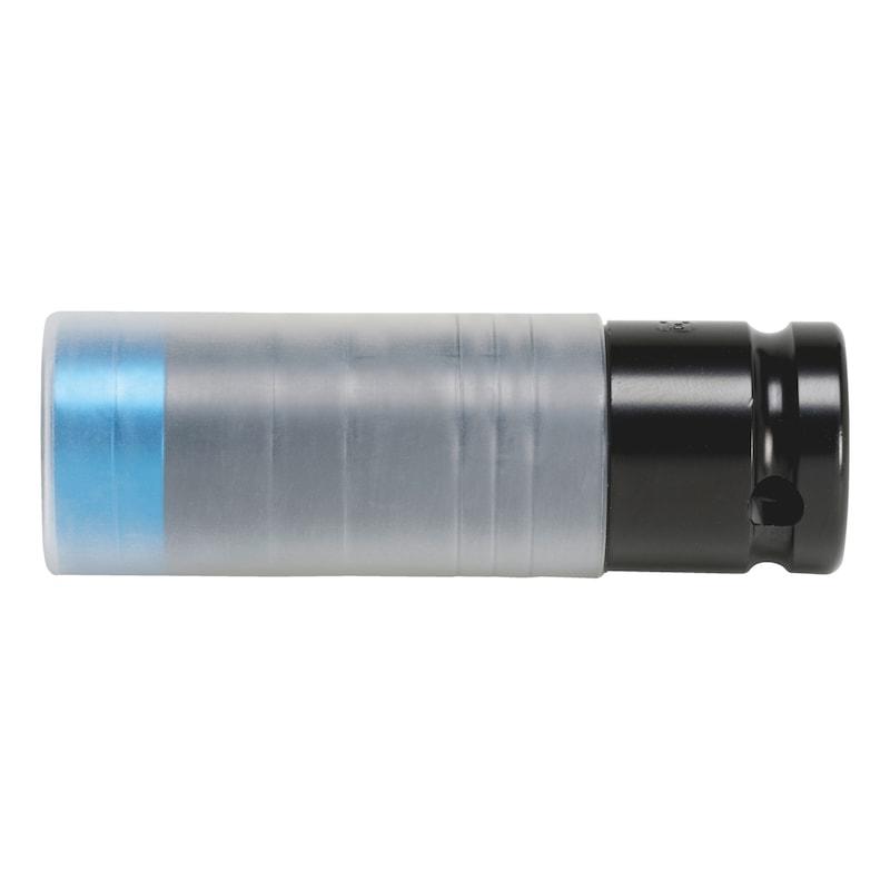 Embout de douille à chocs 1/2pouce, électrique - DOUILLE CHOCS POWER-19MM-1/2'' J ALU